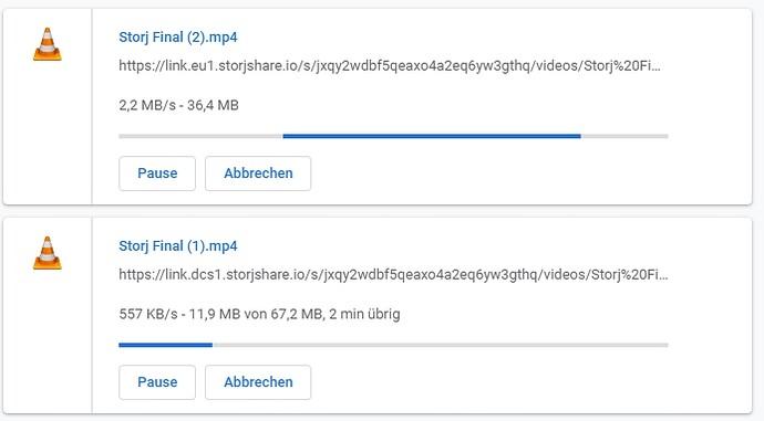 StorJ Download Speed